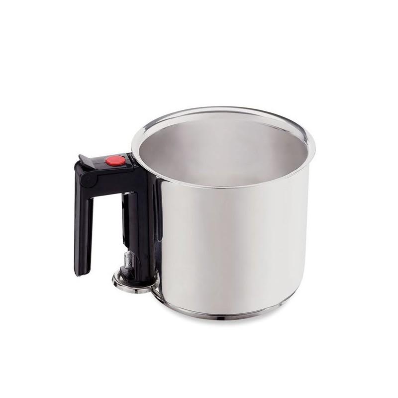 bain marie inox 1 5 l savonnerie cosm tique cuisine les utiles de zinette. Black Bedroom Furniture Sets. Home Design Ideas