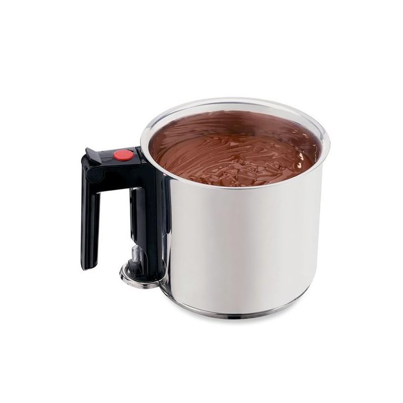 Bain marie inox 1 5 l savonnerie cosm tique cuisine les utiles de zinette - Faire un bain marie ...