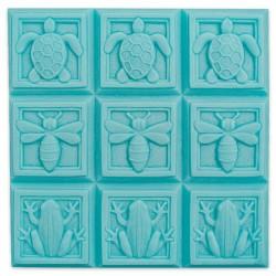 MWM P020 Moule PLATEAU Art Deco FAUNE