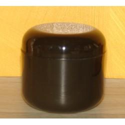 Pot noir double  paroi 120ml