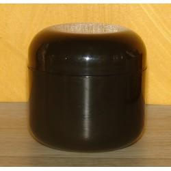 Pot noir double  paroi 60ml