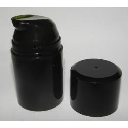 Flacon Airless Noir 50 ml