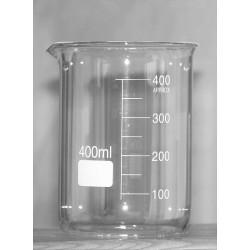 Bécher en verre borosilicaté 400 ml