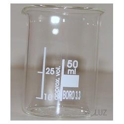 Bécher en verre borosilicaté 50 ml