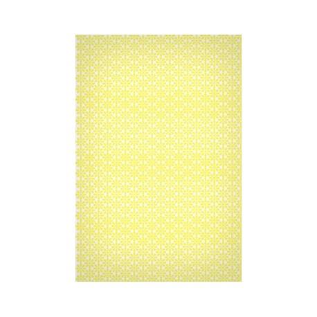 Papier EcoWrap  Motif  'JAUNE'  Lot de 10 feuilles