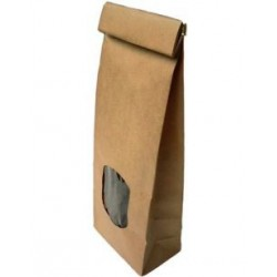 Sac Kraft attache 'étain' 100 gr 'lot de 5'