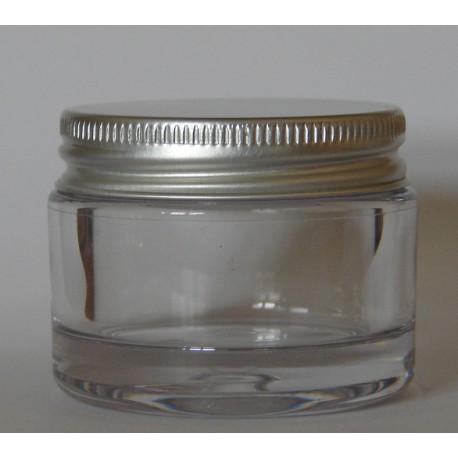 Pot clair PETG paroi épaisse 30 ml
