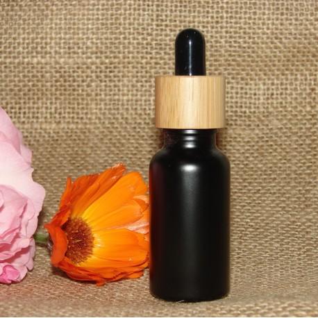 Flacon pipette verre noir20 ml