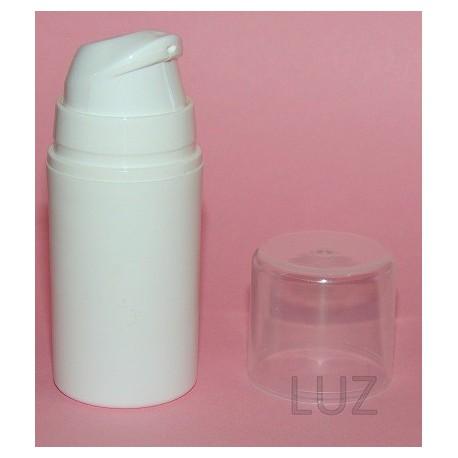 Flacon Airless blanc opaque 15 ml