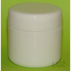 Pot double parois Blanc PP 50 ml