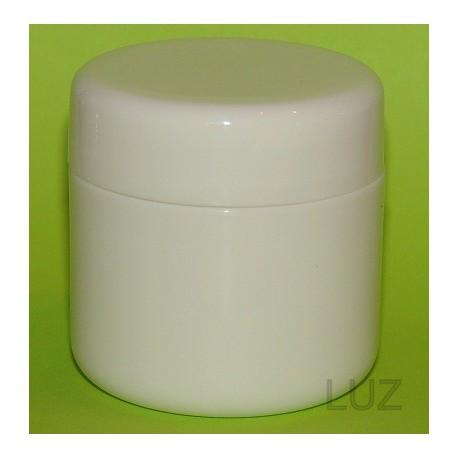 Pot double parois Blanc PP 50 ml