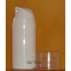 Flacon Airless givré 30ml